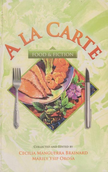 A La Carte: Food & Fiction